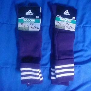 2 pairs Adidas socks